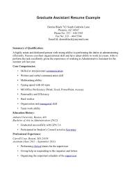cover letter sample cover letter for graduate assistantship sample