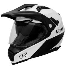 monster energy motocross gear amazon com voss 601 d2 dual sport helmet with integrated sun lens