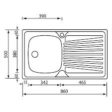 lavello cucina acciaio inox lavello da incasso cm mondial 86x50 1v asmcasa miglior prezzo