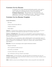 Customer Service Resume Skills Customer Service Resume Summary Template Examples