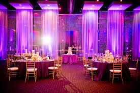Sheer Draping Wedding Wedding Legends Ballroom In The Hard Rock Hotel Brittany And Bj