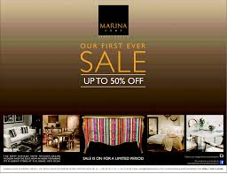 marina home interiors sale upto 50 off starts on 08th aug 2013