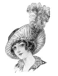 vintage women u0027s fashion illustration archives eclectic cycle