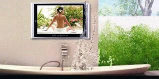 fernseher für badezimmer badezimmer tv wasserdichten fernseher für badezimmmer und garten