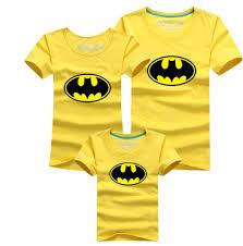 round neck sweater family matching peace superman batman