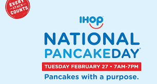 Ihop Winter Garden Ihop National Pancake Day On February 27th Get A Free Short Stack