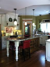 kitchen diy kitchen remodel with island and pendant lamp for