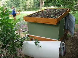 Small Backyard Chicken Coop Plans Free by Free Plans For Building Green Roof Backyard Chicken Coops For