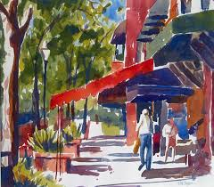 park avenue winter park edie fagan watercolor artist