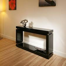 black lacquer console table glossy black lacquer modern console table console tables ideas