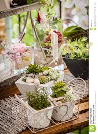 garden decoration shabby chic style stock photo image 54506533