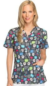 seasonal scrub tops allheart