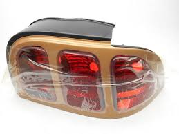 96 98 mustang tail lights nos new oem ford mustang right taillight tail light l aztec gold