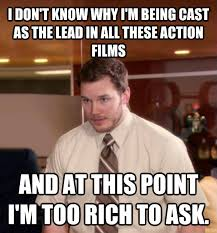 Chris Pratt Meme - livememe com at this point i m too afraid to ask andy