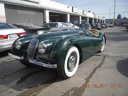 west coast body and paint green jaguar xk120 34 van nuys auto