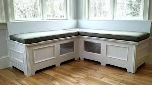 custom window seat cushion bench with cording kitchen coverwindow