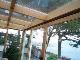 vetrata veranda copertura in vetro per veranda struttura in legno archivetro