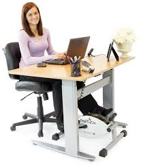 Walking Laptop Desk by Creating A Desk Gym Notsitting Com