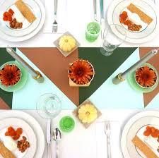 a modern thanksgiving table idea modern thanksgiving decorations