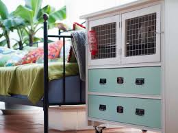 Home Made Rabbit Hutches Recycled Furniture Into Rabbit Hutches With These 9 Diy Ideas