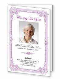Custom Funeral Programs Custom Funeral Programs Clip Art Library