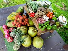 bali fruit and vegetables market haul recipe suggestions welcome