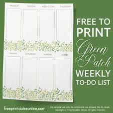 printable to do lists and to do list templates free printables