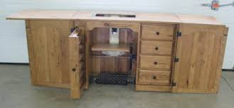 amish furniture sewing machine cabinet love the built in for