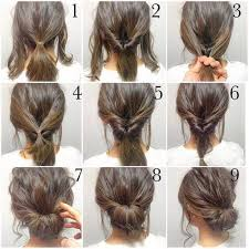 tutorial menata rambut panjang simple perlu ke salon ini 8 cara sulap rambut pendekmu jadi istimewa