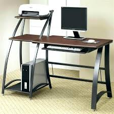 Small Glass Desks Small Glass Desk Computer Desks With Drawers Clear Table Compact