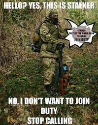 Memes About Stalkers - duty recruitment s t a l k e r cosplay meme by drjorus on