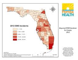 Map Of Lake County Florida by Ems Data Reports U0026 Research Florida Department Of Health