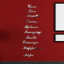 compare prices on sticker mirrors online shopping buy low price removable letters alphabet wall stickers mirror bedroom livingroom home decor china