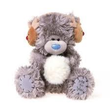 me to you 5 tatty teddy christmas plush bear reindeer ear muffs me to you 5