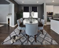Grey Dining Room Wall - Grey dining room