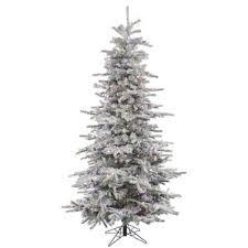 artificial christmas tree black friday flocked christmas trees you u0027ll love wayfair