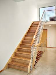 furniture scenic modern wooden staircase designs cute handrails
