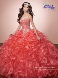 coral pink quinceanera dresses marys bridal 4t177 quinceanera dress madamebridal