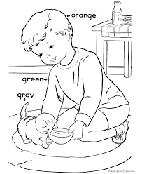 printable coloring pages to learn colors teach colors to child 028