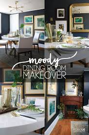 house makeover moody dining room makeover home made by carmona