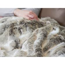 Faux Fur Blankets And Throws Heated Blankets And Throws