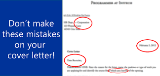 don u0027t make these cover letter mistakes