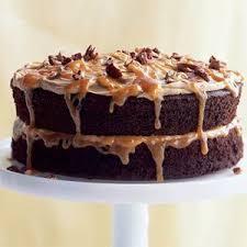 double caramel turtle cake recipe caramel turtle and cake