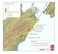 Earthquake World Map by New Map Reveals That Six Faults Ruptured During The New Zealand