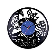 clock alice wonderland characters