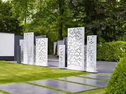 Gartengestaltung Mit Steinen Moderner Garten Sichtschutz