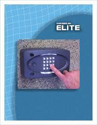 Chamberlain Garage Door Opener Instruction Manual by Chamberlain Telephone El25 User Guide Manualsonline Com