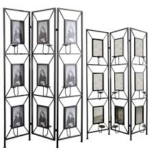delightful iron folding room divider screen with 3 panel photo