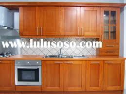 beautiful manificent solid wood kitchen cabinets popular wood