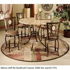 Round Rugs For Dining Room by Ornate Block Round Area Rug